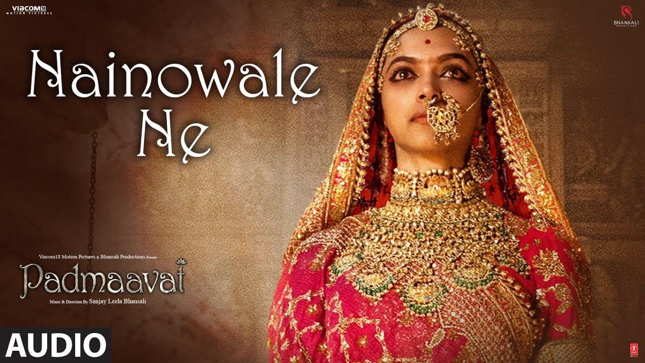 Download Padmaavat: Nainowale Ne Full Audio Song | Deepika Padukone | Shahid Kapoor | Ranveer Singh