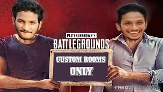 PUBG MOBILE ONLY ROOMS Live Hyper King Telugu Gamer live stream #hyperkingtelugugamer​ #632