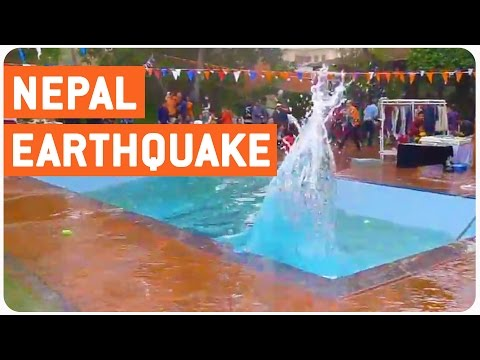 Earthquake At Summit Hotel Kathmandu 2015