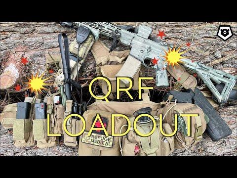 QRF Battle Belt for Patriots, Militia & Preppers
