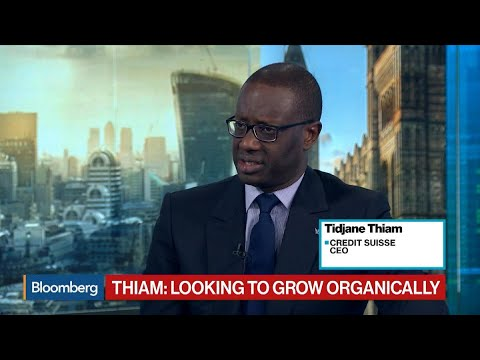 Credit Suisse CEO Says Focus Is on Organic Growth
