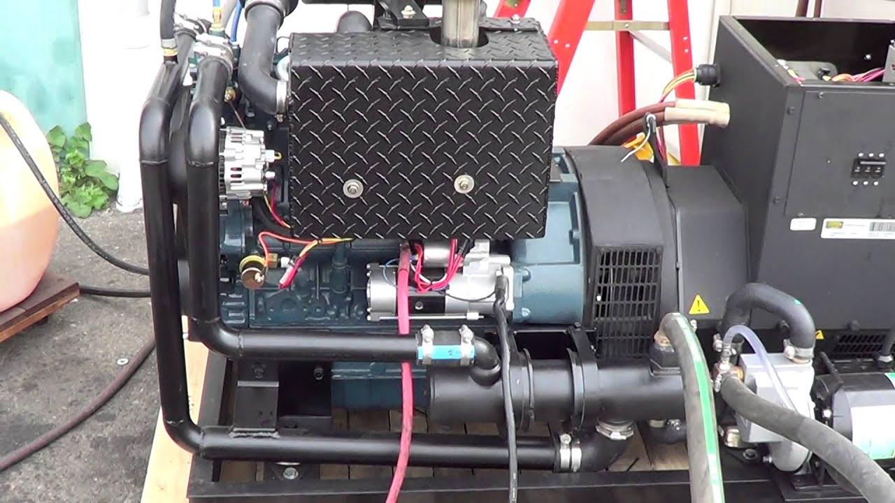 Seaboard Marine Marine Generator Engine Test