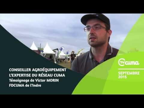 Etre conseiller machinisme en Cuma - L'expertise au service des agriculteurs