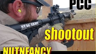Pistol Carbine Shootout by Nutnfancy