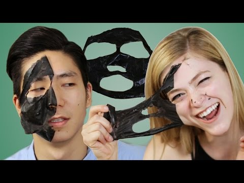 Thumbnail: People Extract Blackheads With Charcoal Masks