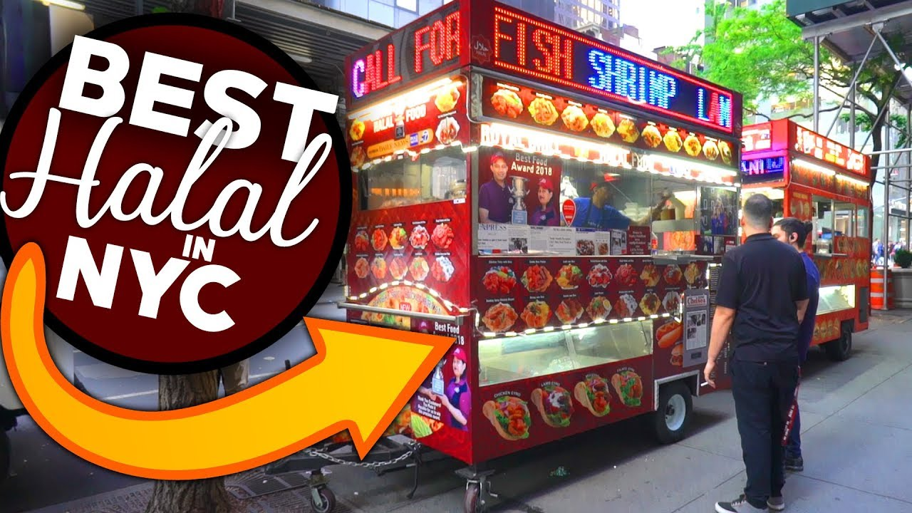 Nyc S Best Halal Carts New York City Halal Food Youtube