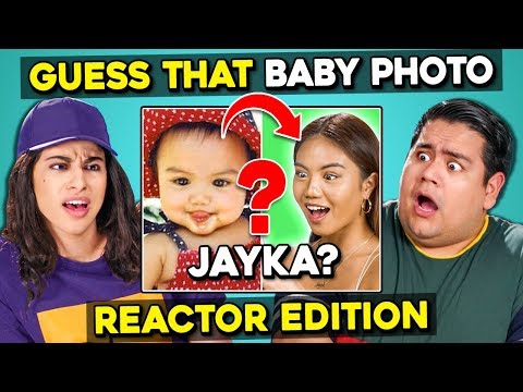 Can YOU Guess That Reactor's Baby Photo? #2 | FBE Staff React