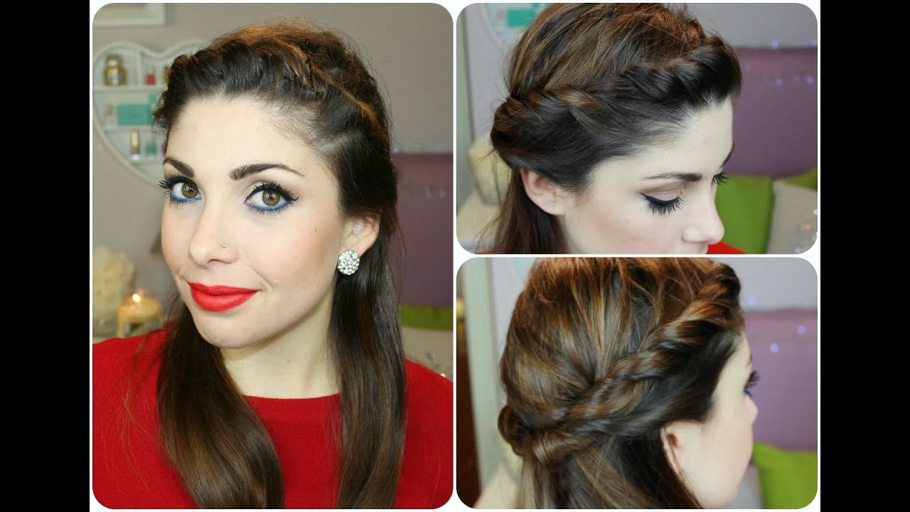 spesso Wedding look 2015: Acconciatura per CAPELLI LISCI ❤ - YouTube EZ33