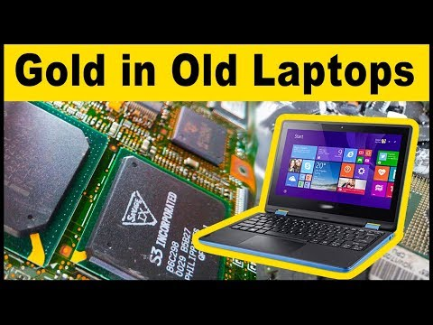 Old Laptops | Best computer scrap for gold recovery