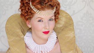 Historically Accurate | Queen Elizabeth I Makeup & Hair Tutorial