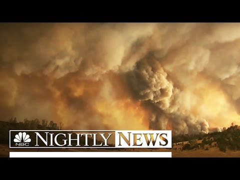 2,000 Firefighters on the Front Lines of California's Rocky Fire | NBC Nightly News