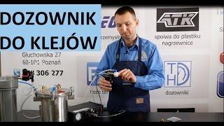 Video: Dozownik klejów i past THD 4K-KE-KB