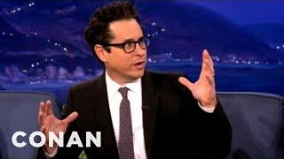 "J.J. Abrams Gives An Exclusive Sneak Peek Of ""Star Trek Into Darkness"" - CONAN On TBS"