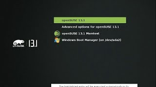 Install OpenSUSE 13.1 (Bottle) in UEFI Mode (Dual Boot Windows 8)
