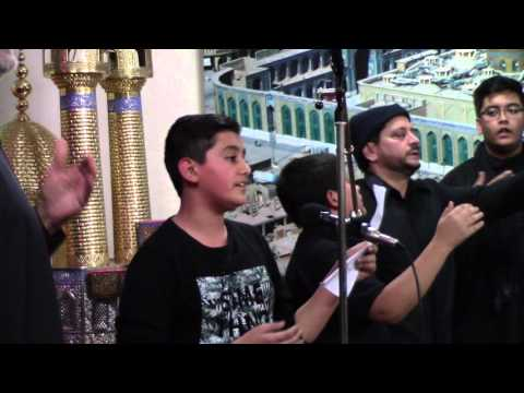 Baazar ke manzar ko - by br Mohammed Raza Ali - Sajjadiya 2015