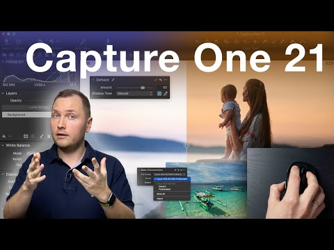 Capture One 21 All New Features - Dehaze, Speed Edit, ProStandard Profiles, Improved Import and more