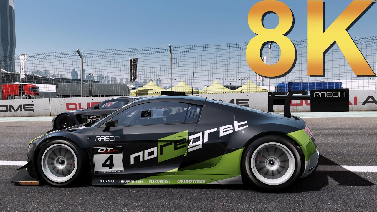 project cars 8k ultra settings gameplay high resolution pc