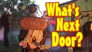 Halloween Decoration Ideas | Halloween Yard Haunt Display At The Neighbor's House