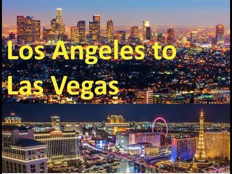 Driving Los Angeles to Las Vegas