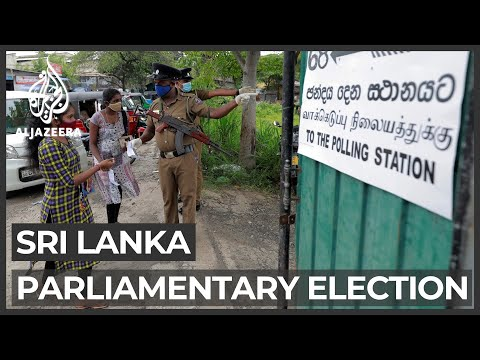 Sri Lanka counts votes from parliamentary elections