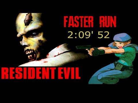 Resident Evil (1996) Jill -  PlayStation Speed run?!
