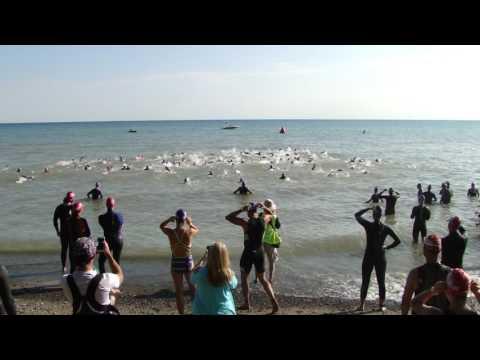 2017 Trisport Grimsby Sprint Triathlon start