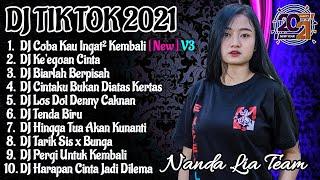 Dj Tik Tok Terbaru 2021 | Dj Coba Kau Ingat Ingat Kembali Full Album Tik Tok Remix 2021 Full Bass