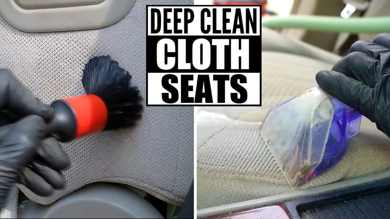 How To Deep Clean Cloth Car Seats The Right Way And Remove Stains Dirt You