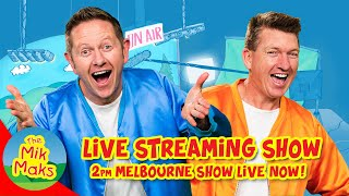 Live Kids Songs and Nursery Rhymes with The Mik Maks / 2pm Melbourne 23/04/2020