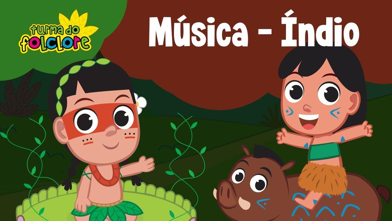 Turma Do Folclore Celebrando O Dia Do Indio Saci Curupira
