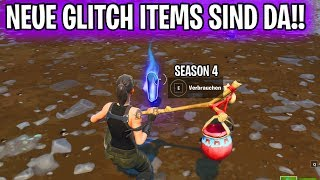 Fortnite: NEUE GLITCH ITEMS SIND DA!! | Season 4 & Season 5 Items!!