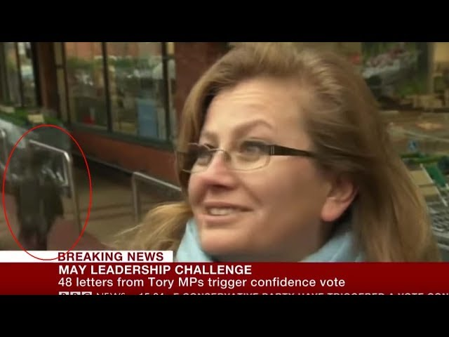 Un niño se teletransporta durante una entrevista de la BBC