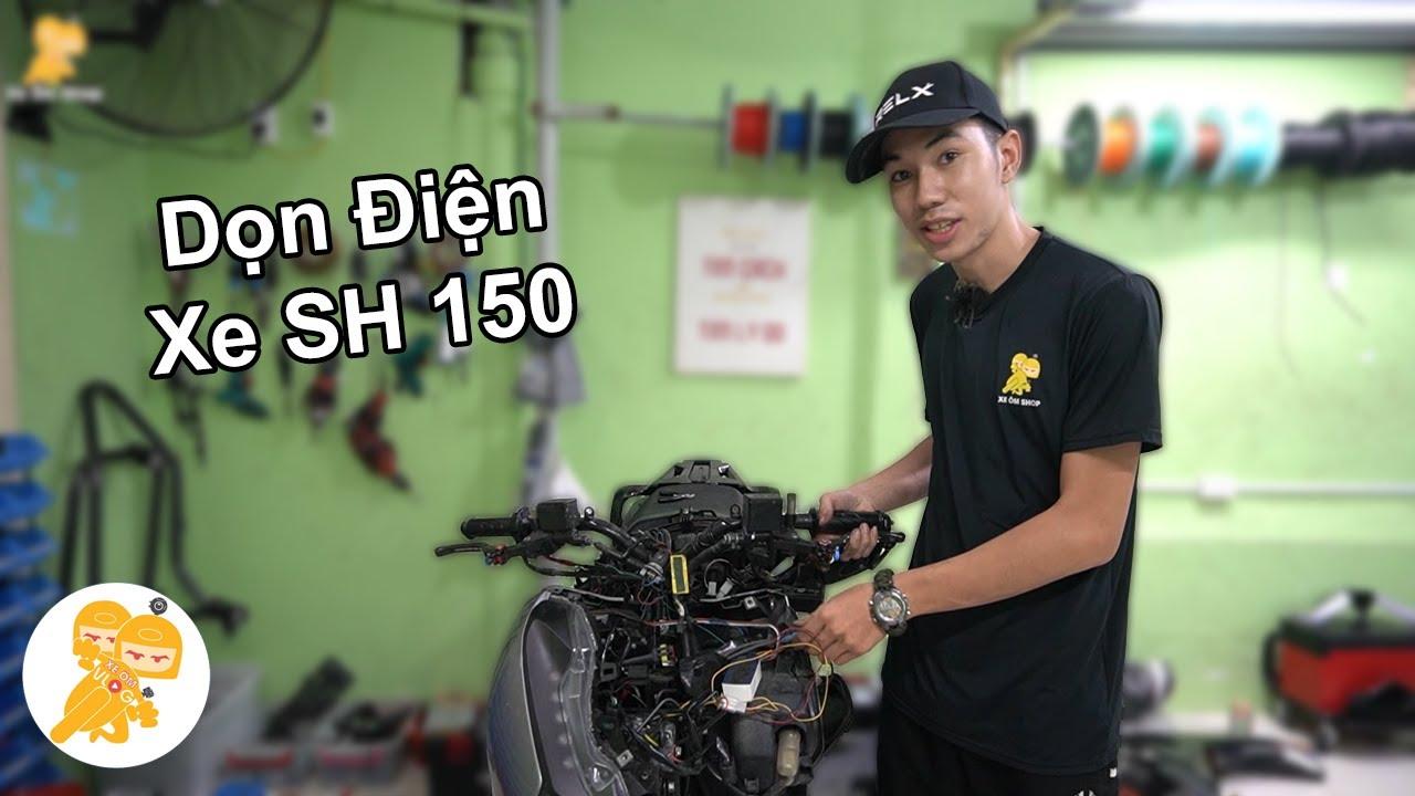 PHỤC HỒI Lại Hệ Thống Điện Xe Honda SH 150 Trong 48 Giờ - Xe Ôm Shop