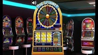 Machine à sous classique de casino BIG SPINNER - Bonus de roue ou non ?