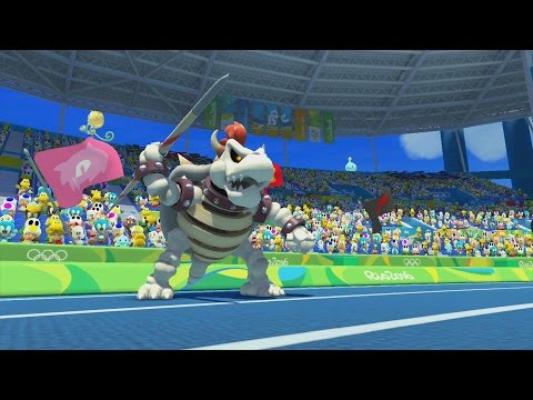 Mario & Sonic at the Rio 2016 Olympic Games (Wii U) - All Guest Characters Gameplay