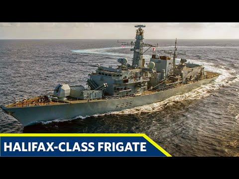 How Powerful Halifax-Class Frigate Royal Canadian Navy