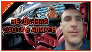 Неудачная охота в Алмате с трансляции..