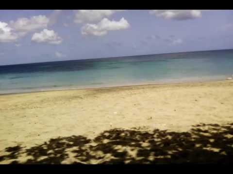 Bequia beach lower bay in St Vincent and the Grenadines