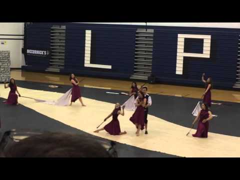 Warren township high school varsity winterguard