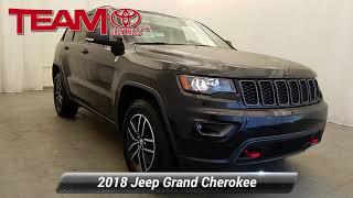 Used 2018 Jeep Grand Cherokee Trailhawk, GLEN MILLS, PA GM34375A
