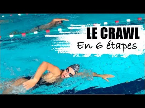 COMMENT NAGER FACILEMENT : le crawl en 6 étapes