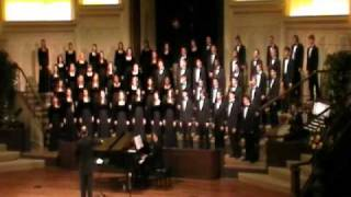 Baylor A Cappella Choir Tour 2011 - Pilgrim Song