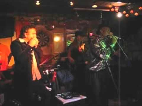 Robbert Fossen Band & Big Bones - Harmonica Jam - Cafe de Kroeg (2008) Geldrop, the Netherlands