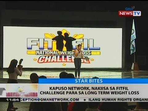 BT: Kapuso network, nakiisa sa fitfil challenge para sa long term weight loss
