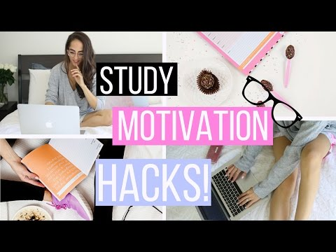 STUDY MOTIVATION: 10 Life Hacks That Will Motivate You To Study!