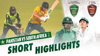 Short Highlights   South Africa vs Pakistan   3rd T20I 2021   PCB   ME2E