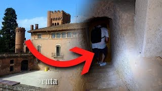 Encontramos GRUTA secreta en un castillo abandonado