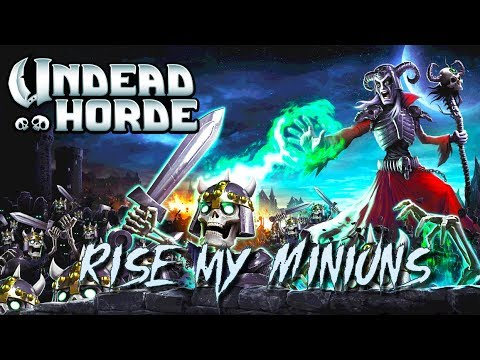First Look Gameplay - Undead Horde Game - 10tons (Early Access/Alpha)  