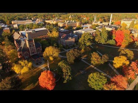UNH Campus Aerial Tour 2015