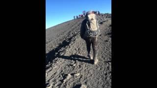 Mt Kilimanjaro (Uhuru Peak) - Arriving at the summit